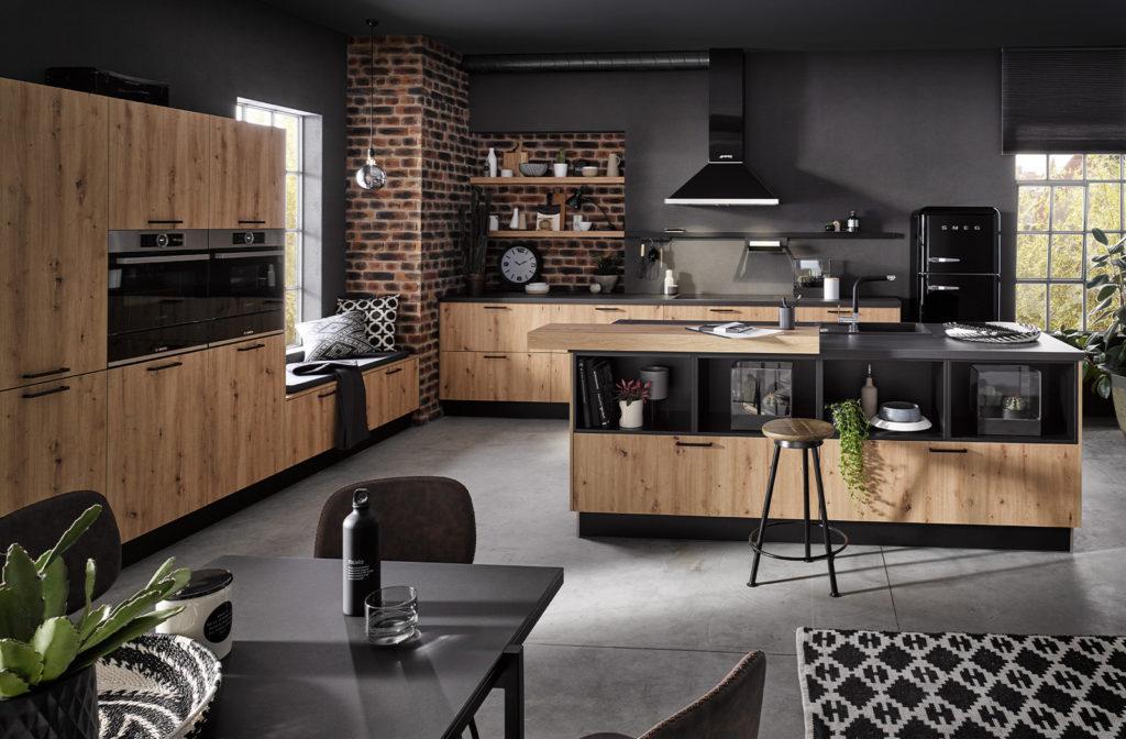 Hacker houtlook keuken